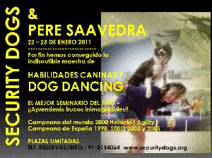 Seminario de Pere Saavedra en Security Dogs.