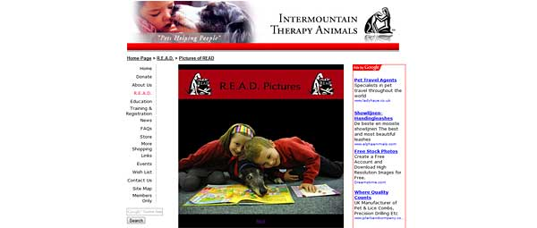 Programa R.E.A.D. (Reading Education Assistance Dogs).