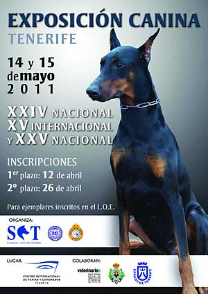  XV Exposicin Canina Internacional de Tenerife.
