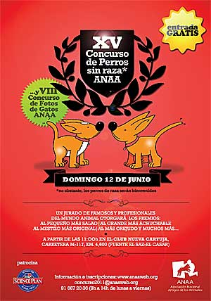 XV Concurso de perros sin raza de ANAA.