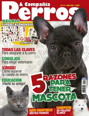 Revista Perros y Compaa, enero de 2012.