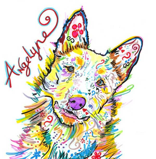 <strong>Angelyne</strong> the Amazing DEAF Cattle Dog