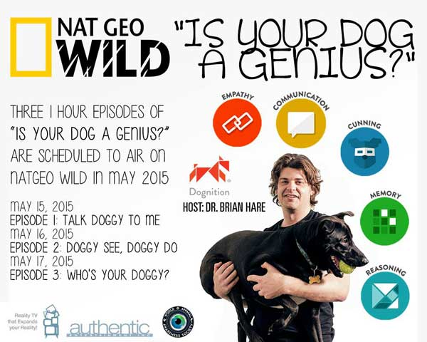 Dognition en National Geographic Wild
