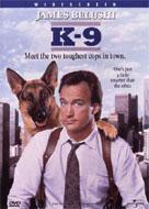 Carátula de la película K-9, de James Belushi