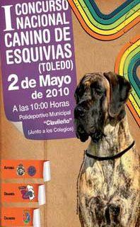 I Concurso Canino en Esquivias, Toledo