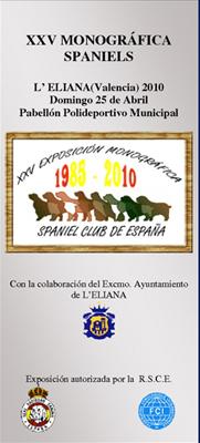 Monográfica de Spaniels 2010, en Valencia