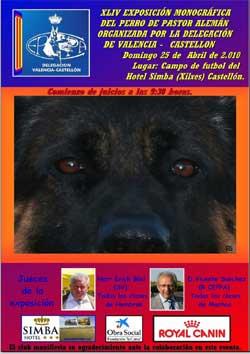 Monográfica del pastor alemán en Castellón 2010 (CEPPA)