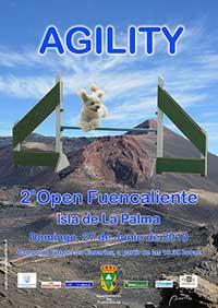 Segundo Open de Agility en Fuencaliente.