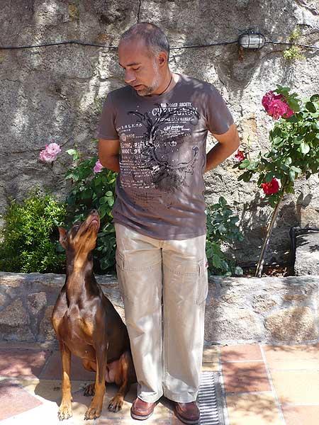Entrevista con Alfonso Espadas. Educación Canina Dokusan.