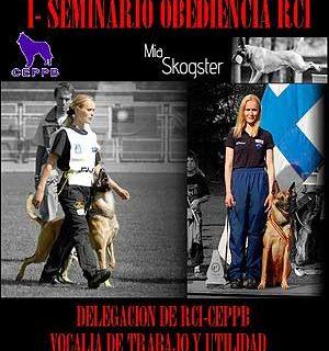 Seminario RCI con Mia Skogster