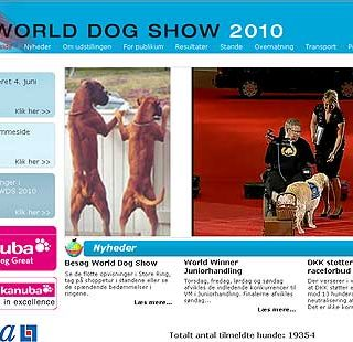 World Dog Show 2010 en directo.
