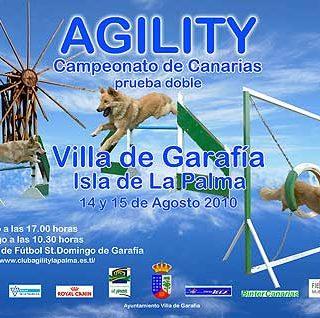 Campeonato de Canarias Agility en Garafia, Isla de La Palma
