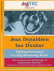 DVD contra las teorías de la dominancia, de Ian Dunbar y Jean Donaldson.