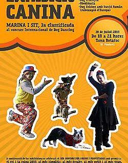 Exhibición canina en El Vendrell, con Marina Ordoño y David Román