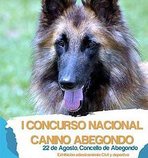 I Concurso Nacional Canino de Abegondo.