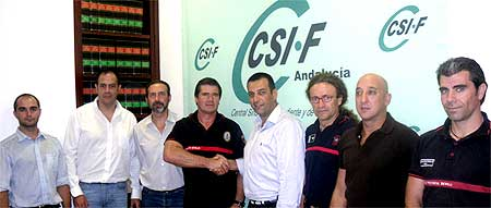 """CSI-F alcanza un importantísimo acuerdo con el creador del método """"Arcón"""" de Rescate Canino."""