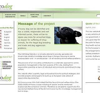 Por la tenencia responsable y la información acerca de los perros www.carodog.eu