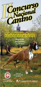 II Concurso Nacional Canino de Galapagar (Madrid).