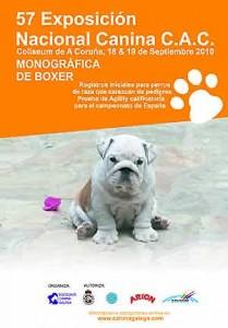 57 Exposición Canina en La Coruña.