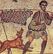Representación del perro en Roma.