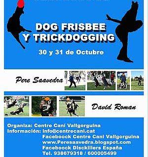 Seminario de dog frisbee/trick dogging