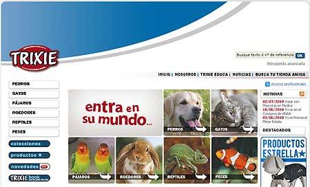 Trixie, productos y accesorios para perros y otras mascotas.