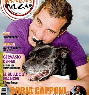 """Revista """"Malas Pulgas"""", con Borja Capponi."""