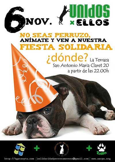 Fiesta solidaria de A.S.P.M.Z. y Zarpa Zaragoza Protección Animal.