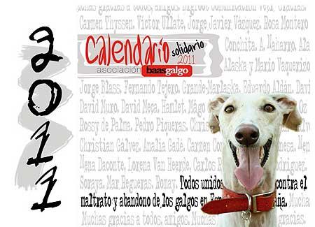 Baas Galgo presenta su Calendario solidario 2011.