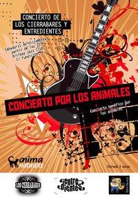 Concierto rock por los animales en Logroño.