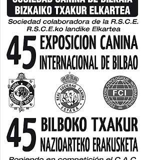 45 Exposición Internacional Canina de Bilbao.
