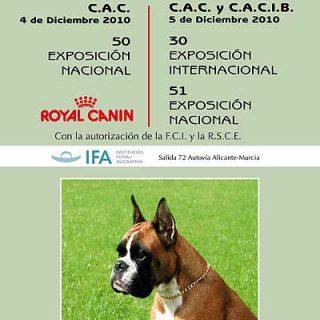 30ª Exposición Canina Internacional de Alicante.