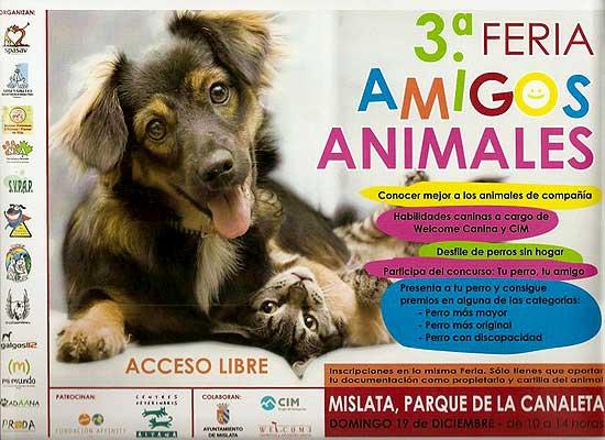 3ª Feria Amigos Animales, en Mislata (Valencia)
