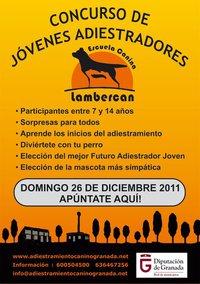 Concurso de jóvenes adiestradores en Granada.