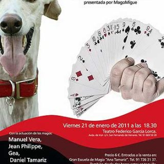 """Baas Galgo presenta la gala """"Magia solidaria""""."""