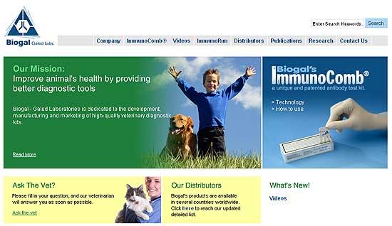 Biogal anuncia el lanzamiento de la VacciCheck canina en los EE.UU.
