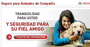 Nuevos seguros para mascotas Mapfre.