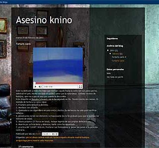 Asesino Knino, el blog del horror.