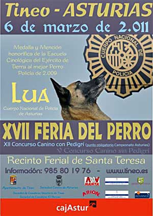 XVII Feria del Perro en Tineo, Asturias.