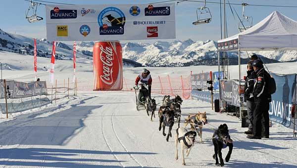 Campeonato de España de Trineo con Perros, 26 y 27 de febrero 2011.