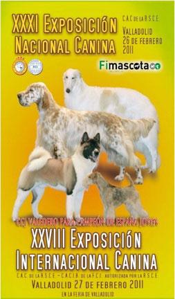 XXVIII Exposición Canina Internacional de Valladolid.