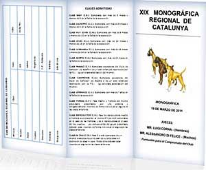 XIX Monográfica de boxer de Cataluña.