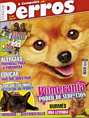 Revista Perros y Compañía, marzo de 2011.