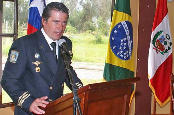 Jaime Parejo, en el VII Congreso Internacional de Ciencias Veterinarias, Cuba.