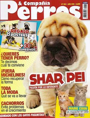 Revista Perros y Compañía, abril de 2011.