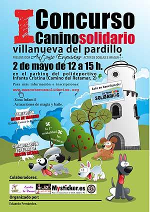 Concurso canino de Mascoteros Solidarios.
