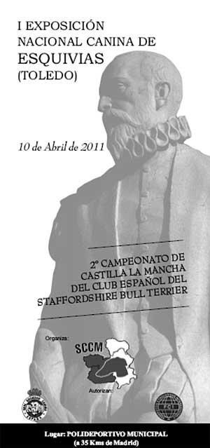 I Exposición Nacional Canina de Esquivias, Toledo.