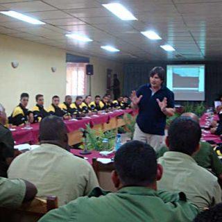 Importante Reunión sobre Método Arcón en el Centro Nacional de la Técnica Canina de Cuba.