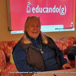 Curso de Turid Rugaas y Anne Lill Kvam en España.