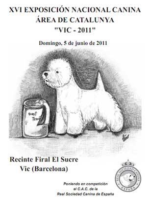 XVI Exposición Canina Vic 2011.
